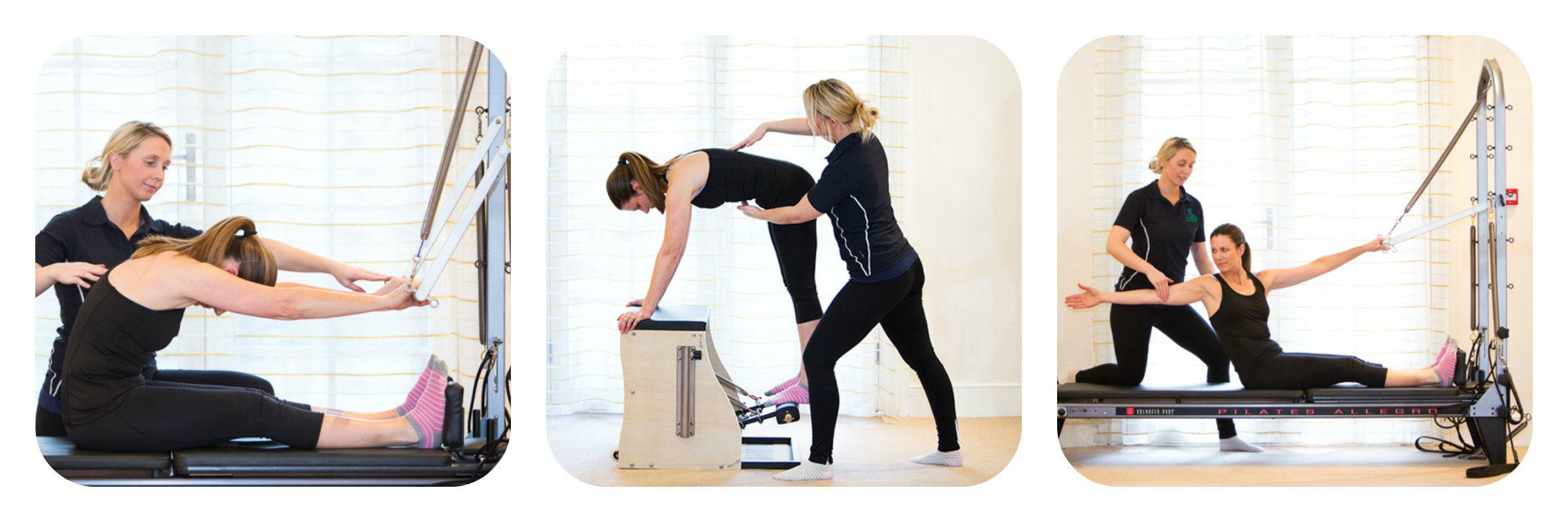 Pilates collage